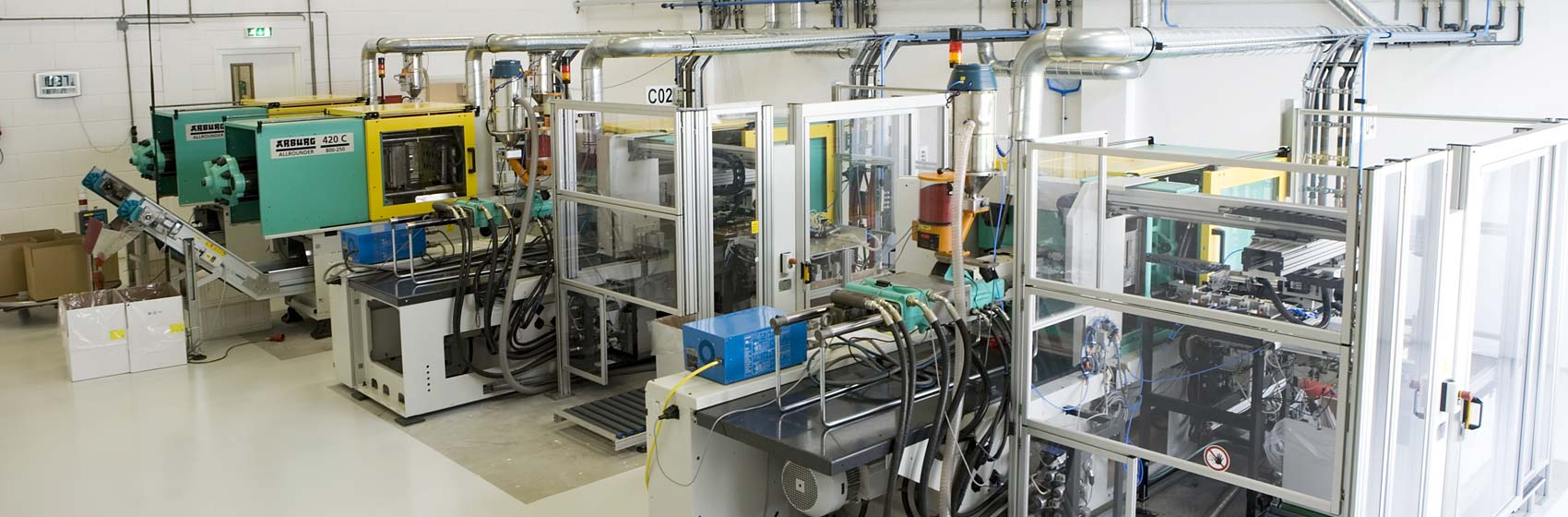 Cleanroom productie